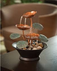 Water Fountain Home Decor Copper Water Feature Getpaidforphotos Com