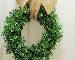 artificial boxwood wreath faux thin artificial boxwood wreath door wreaths front