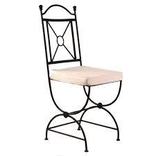 chaises en fer forgé chaise en fer forgé barunsonenter com