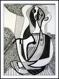 Peinture Noir Et Blanc by Picasso Noir Et Blanc Interpretation Couleur Atelier Mana