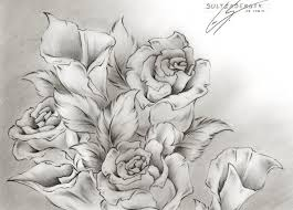 21 flower drawings art ideas sketches design trends premium