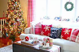 Red Pictures For Living Room by Sumptuous Design Ideas Christmas Curtains For Living Room All