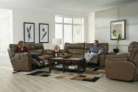 Reclining Sofa Set Catnapper Milan Lay Flat Reclining Sofa Set Smoke Cn 4341 Sofa