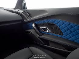 Audi R8 Blue - audi r8 v10 plus