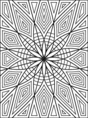 geometric coloring pages geometric coloring page easy geometric