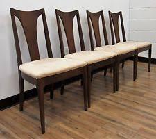 Modern Walnut Dining Chairs Broyhill Brasilia Ebay