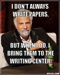 Memes About Writing Papers - university of central missouri writing center ucm writing center