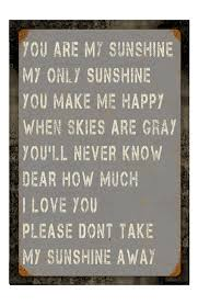 You Are My Sunshine Wall Decor Signs For Home Decor Fabulous I Love You In The Morning Hand