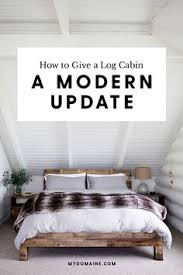 How To Decorate A Log Home Inside A Restored Midcentury Log Cabin We All Want To Retreat To