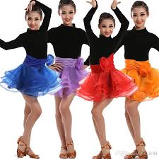 kids samba children s dress girl kids samba costumes black