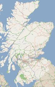 Europe Cities Map by Large Road Map Of Scotland With Cities Scotland United Kingdom