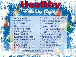 healthy gifts 25 healthy gift ideas monterey bay holistic alliance
