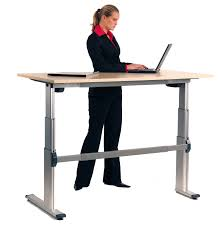 Sit Stand Office Desk Aluforce Pro 140 Cl Sit Stand Electric Office Desk