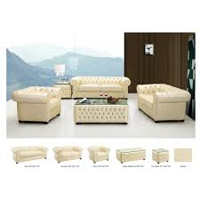 Leather Sofa Sets 3 560 00 258 Living Room Set Ivory Leather Sofa Loveseat And