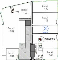 commercial floor plan haymarket landing