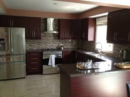 kitchen designs white cabinets with black countertop backsplash