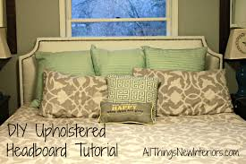 Diy Door Headboard Diy Headboard Tutorial All Things New Interiors