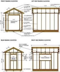 Outdoor Wood Shed Plans by How To Build A Gable Storage Shed This Shed Is Built On A Skid