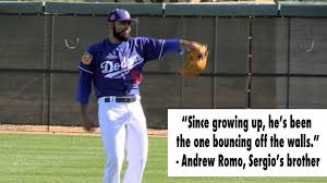 dodgers u0027 sergio romo remains optimistic despite bumpy homecoming