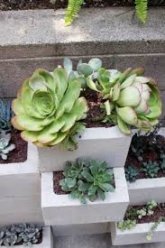3 d cinderblock planter wall yes please curbly