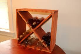 how to make a wine rack storage cube jeff u0027s diy projects