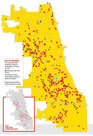 chicago map shootings killing season chicago