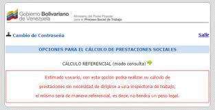 calculo referencial de prestaciones sociales en venezuela opciones calculo de prestaciones sociales colconectada