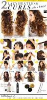 best 25 overnight curls ideas on pinterest heatless curls