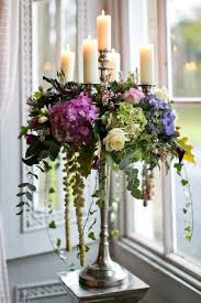 lively flower candelabra centerpieces ideas for weddings