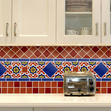 mexican tile backsplash kitchen outstanding mexican tile backsplash ideas for kitchen 35 for best