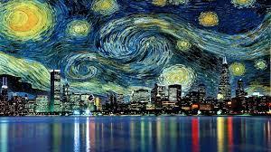 vincent van gogh starry night desktop wallpaper wallppapers gallery