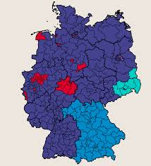 Map Election by German Election Results Map Where The Afd Won In Germany