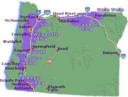 map of oregon wineries map of oregon wine country go northwest a travel guide