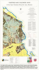 Missouri Map Usa by Missouri Geological Survey