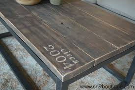 coffee table sweet number 9 boutique