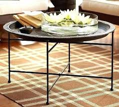 moroccan round coffee table moroccan tray table celluloidjunkie me