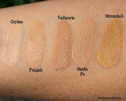 Shades Of Orange Colour Beauty Professor Nars All Day Weightless Luminous Foundation