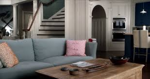 Living Rooms With Blue Couches by I Want The Beach House From