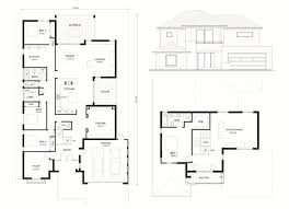 double storey house plans kitchen upstairs homes zone