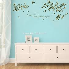 popular leaf wall decals buy cheap leaf wall decals lots from birds on branches wall decal leaves wall sticker home wall decor vinyl mural for sitting room