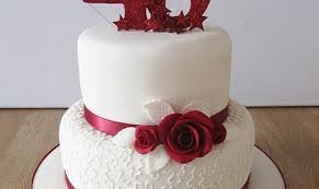 ruby wedding cakes expensive wedding cakes for the ceremony cakes for ruby wedding