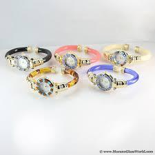 murano glass bangle bracelet images Wholesale murano watches wholesale millefiori watches wholesale jpg