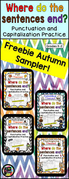 free sle pages from my 4 autumn themed where do the sentences