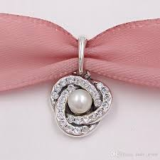 pandora style necklace silver images 2018 mothers day 925 sterling silver beads luminous love knot jpg