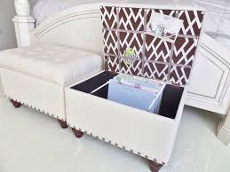 storage ottoman slipcover file storage ottoman how to youtube
