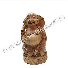 wooden happy laughing buddha statue wooden happy laughing buddha