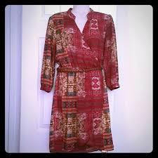 forever 21 3 4 sleeved boho dress 21st dresses and