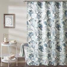 Aqua Blue Shower Curtains Cynthia Jacobean Shower Curtain Lush Decor Www Lushdecor