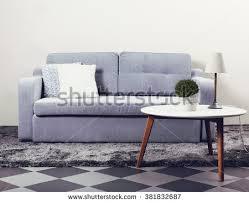 grey sofa modern interior grey sofa modern table stock photo 388093108 shutterstock