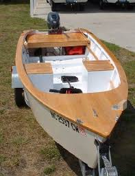 darkwater skiff wooden boat plans boat building pinterest